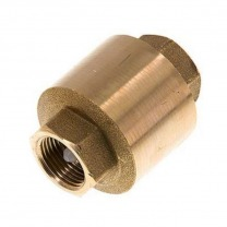inline brass check valves