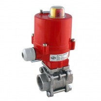 Electric Ball Valve Stainless Steel - Tameson
