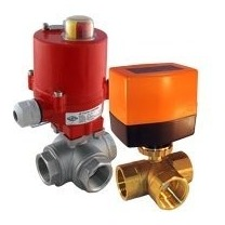 3-Way Electrical Ball Valve for Oil and Fuel - Tameson