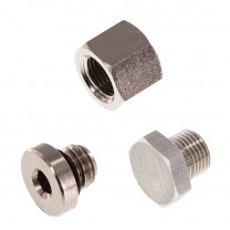 end cap and plug fittings