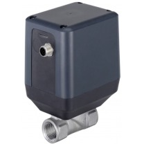 actuated disc valves for flow and process control