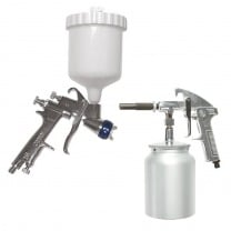 spray and suction guns