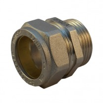 straight brass compression fittings with male thread