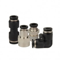push-in fittings with 2 connections