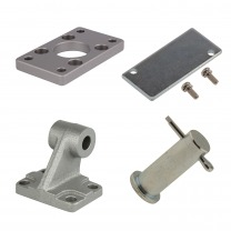 cap-end mounting accessories (ISO 15552 & 21287)