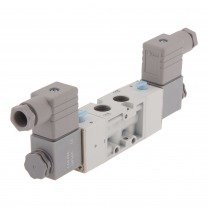 5/2-way pneumatic solenoid valves