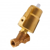 brass angle seat piston valves