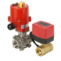 2-way electric ball valves