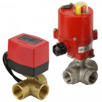 3-way electric ball valves