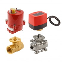 electric ball valve accessories