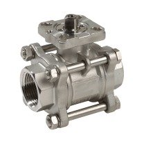 stainless steel ball valves (ISO-top)
