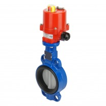 electric cast iron butterfly valves