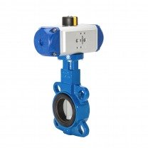 pneumatic stainless steel butterfly valves