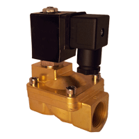 2-way solenoid valve compressed air