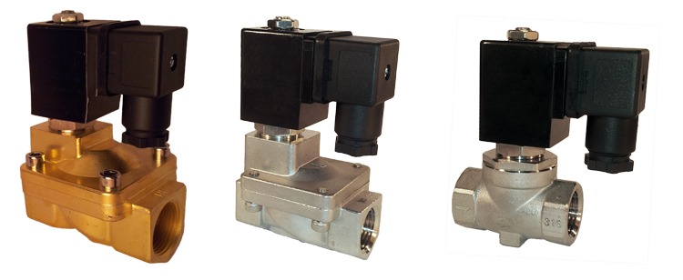 sample solenoid valves for carwash