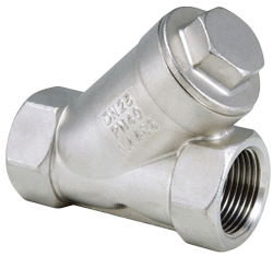 Typical y-check valve