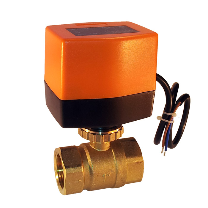 Electric Ball Valve for Camper or Caravan