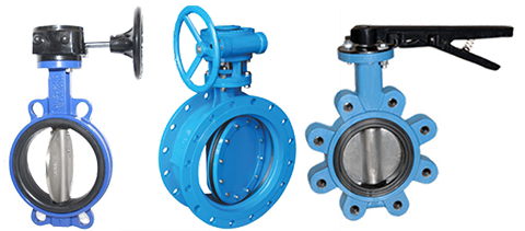 Butterfly valve connection types